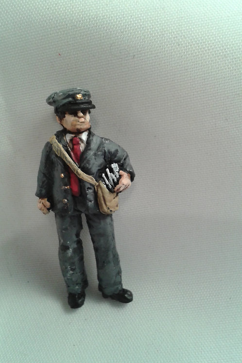 O Gauge Postman with Letters