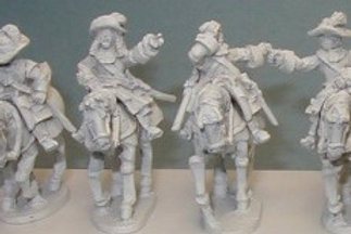 Cuirassier Command in hat