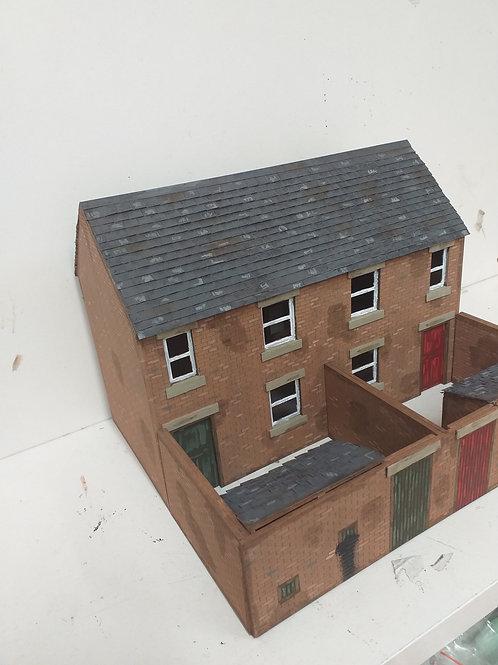 O Gauge Terrace House