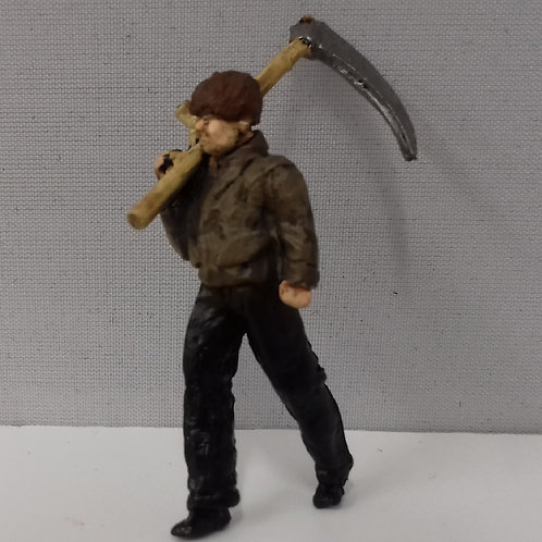 Lineside Worker with Scythe