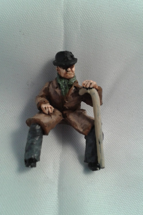 O Gauge Male Figure (Sitting)