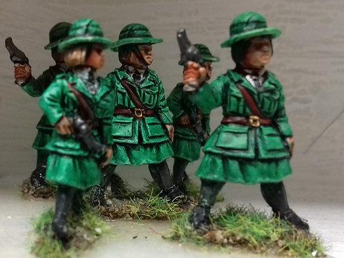 """IRA Female Auxiliaries """"Cumann na mBan"""""""
