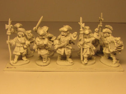 Grenadiers with Cloth Cap