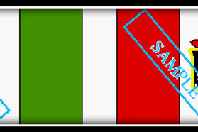 Italian Army and Colonial Flags