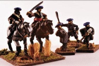 Covenanter Generals and Artillery Crew