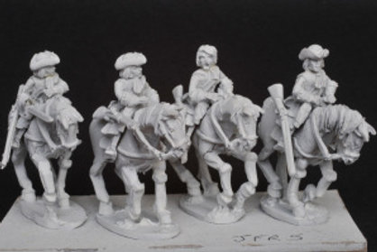 Cavalry in Tricorn (Line & Garde du Corps)