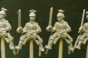 Uhlans with Swords