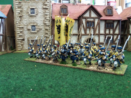 Scanian War Swedish Infantry