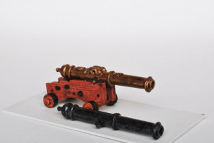 12-24 Pounder Ship's Gun Plain Barrel
