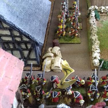 Saxon barricade