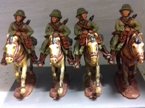 Cavalry in 1932 Helmets