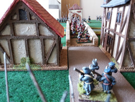 Covenanter Musketeers await the Guard