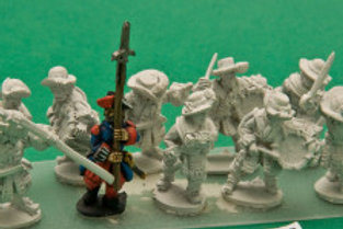 Garde Francaise/ Suisse Infantry Command