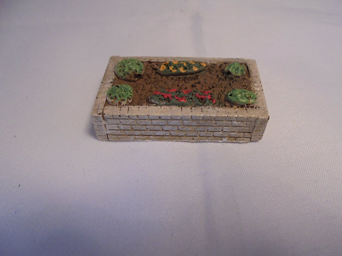 O Gauge Raised Flower Bed