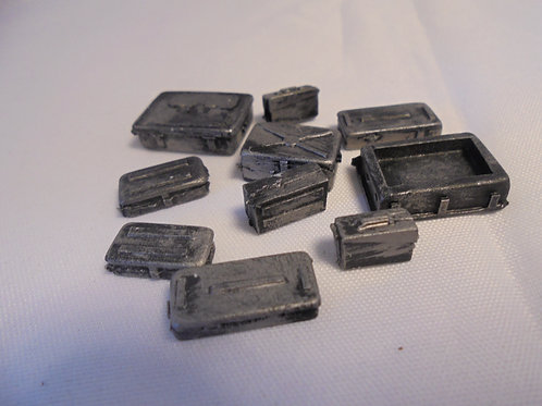 O Gauge Metal Boxes (Multi Pack)