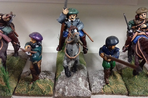 Set 3. Mounted Reivers