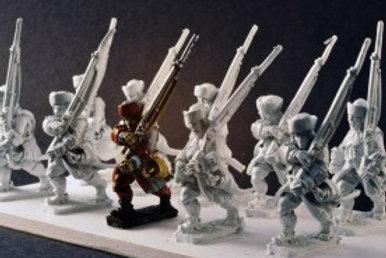 Infantry in Kabuds
