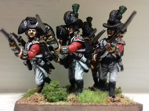 Light Infantry in top hat