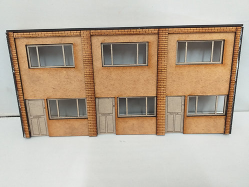 O Gauge Low Relief Link Villa (Front)
