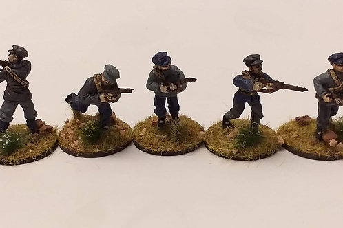 Infantry with rifle