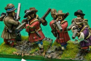 Militia Musketeers.