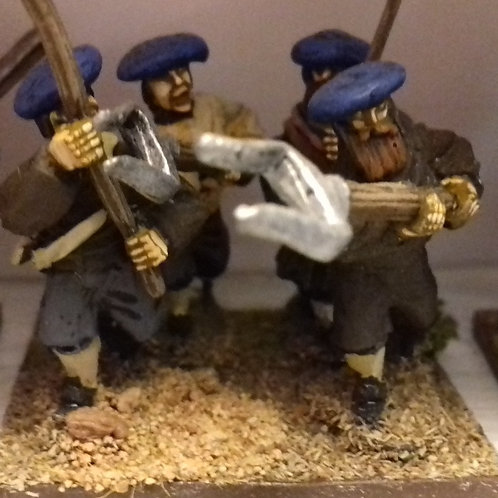 Covenanters with Assorted Weapons