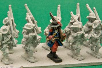 Garde Francaise/ Suisse Musketeers