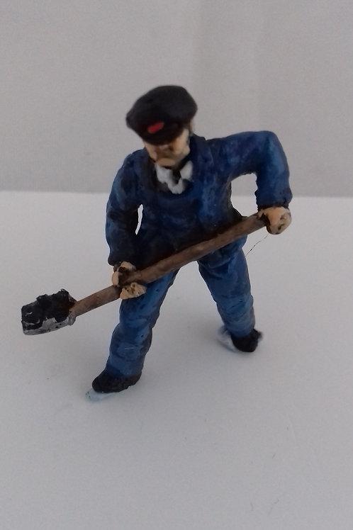 O Gauge Steam Fireman