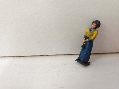 Lady with Long Skirt