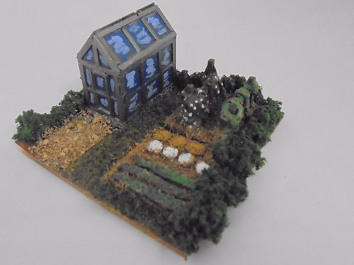 OO Gauge Scenery - Allotment Base