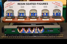 Resin Seated Coach Figures (6pk)
