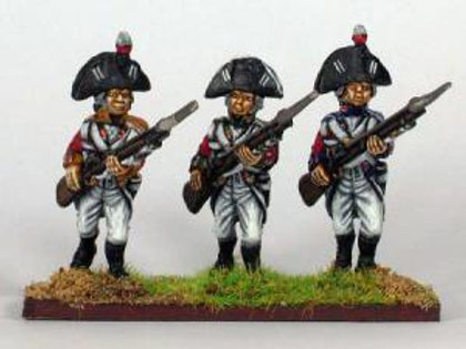Line Infantry in Bicorne with Rosette & Plume