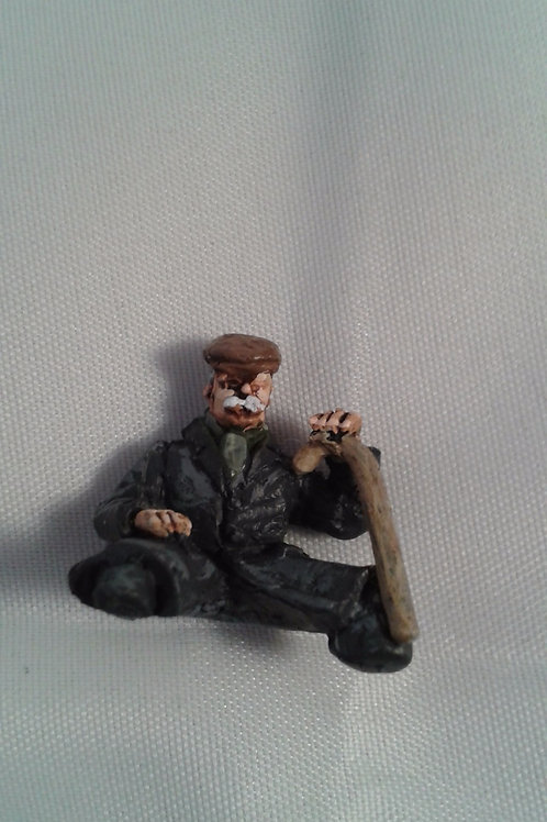 O Gauge Male Carriage Passenger (1/2 figure)