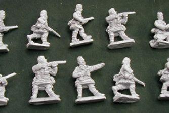 Highland Infantry with Officer, Kilt & Glengarry