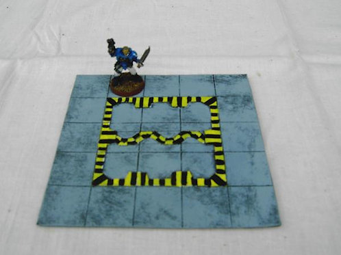 28mm Star Ship Hanger Bay Floor Tile