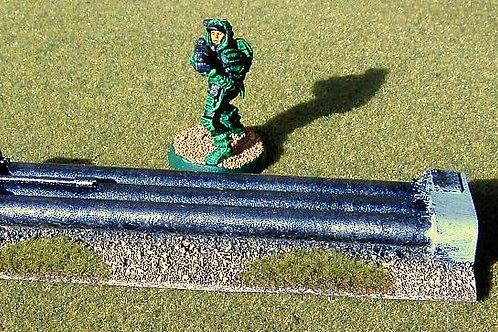 28mm Pipeline Long Straight