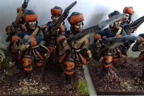 Musketeers, Karpus, Advancing.