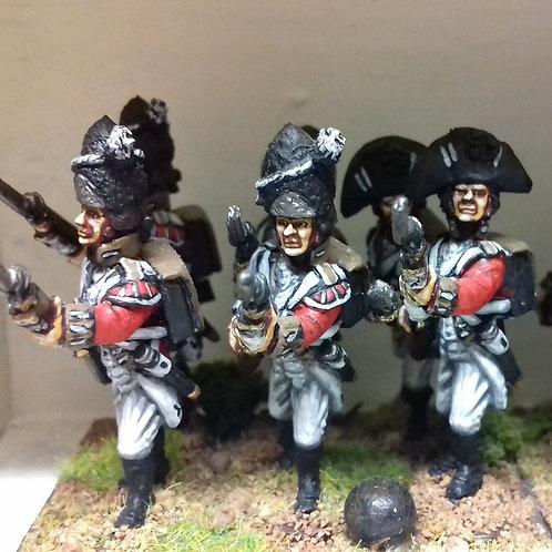 Grenadier in fur cap
