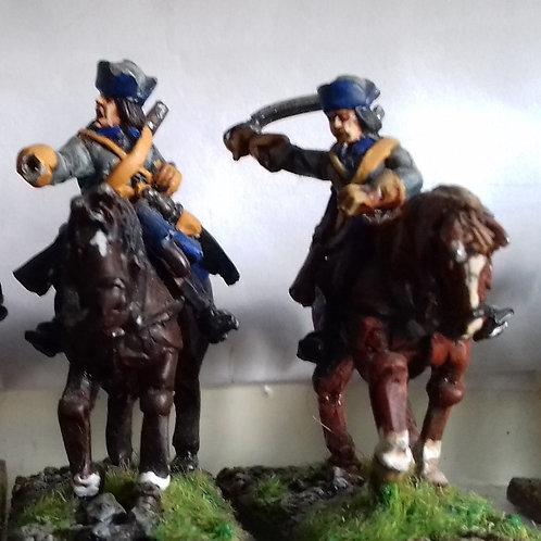 Dragoons in Pokalem, Charging