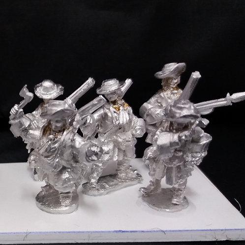 Grenadier, Attacking