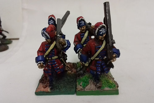 Grenadiers, Cloth Cap, Marching