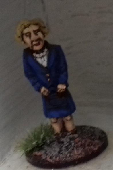 Margarat Thatcher, PM.