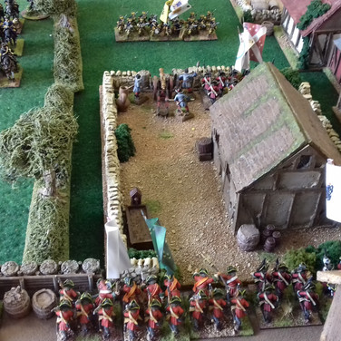 View from the Danish front line