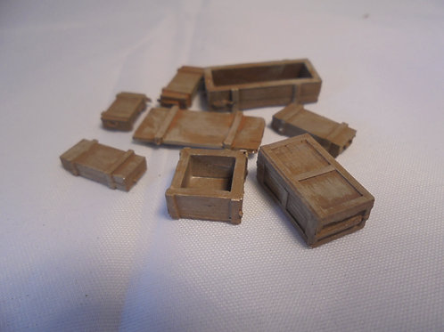 28mm Gauge Wooden Boxes (Multi Pack)