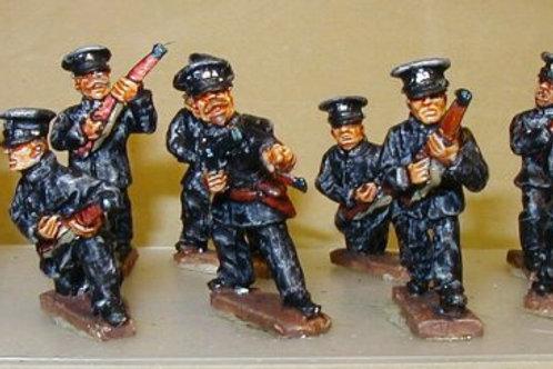 Royal Irish Constabulary in Flat Caps