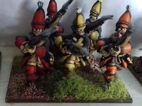 Grenadiers, Advancing.