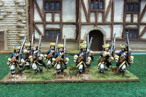 Musketeers,  Apostles, Karpus, Advancing