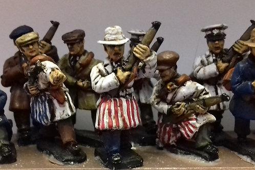 Tradesmen with Rifles (Milkmen/Butchers)