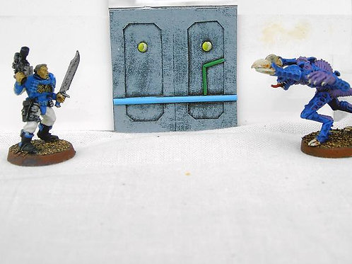 28mm Star Ship Wall Section (Small)
