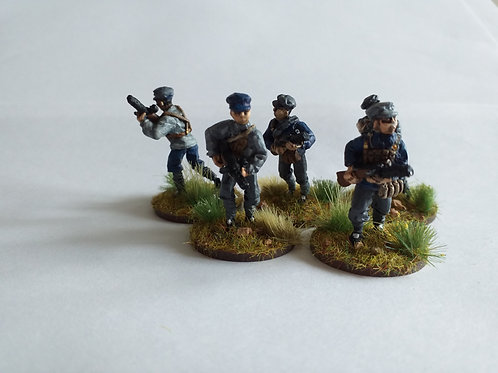 Infantry with SMG